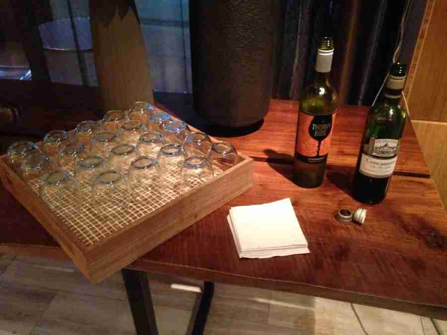 The Andaz hosts a wine reception each night from 5-7pm.