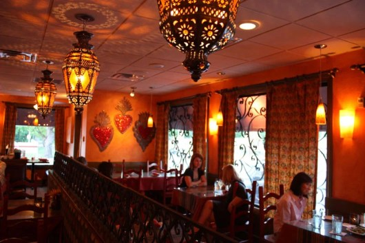 Corazon at Castle Hill's eclectic interior.