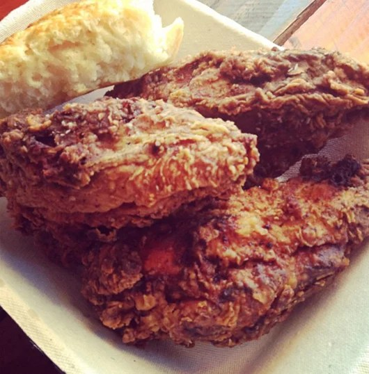 Fried chicken is the main attraction at Fat Lyle's.