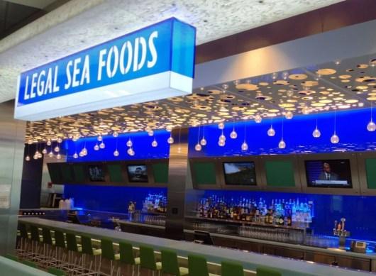 Legal Sea Foods at Boston's Logan Airport