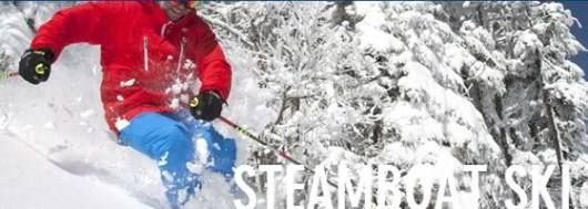 Get same day free night skiing with your Alaska boarding pass at Steamboat Springs