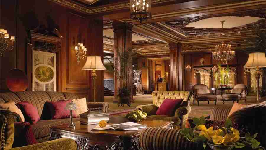 The lobby of Boston