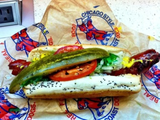 At Midway's Gold Coast Dogs, you can just about everything on your hot dog - but ketchup is a no-no