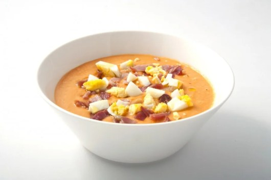 Have a delicious bowl of Salmorejo cold soup in Granada, or anywhere in Andalusia! Photo courtesy of Shutterstock.