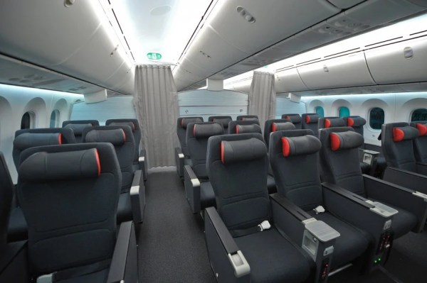 Air Canada's 787 premium economy looks pretty swanky.