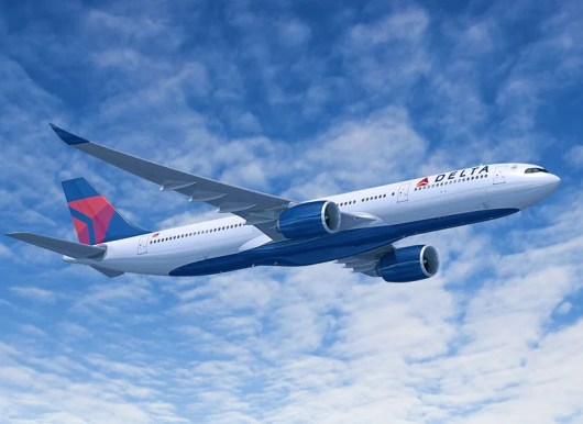 Delta will begin taking delivery of 25 Airbus A330-900neo planes in 2019.