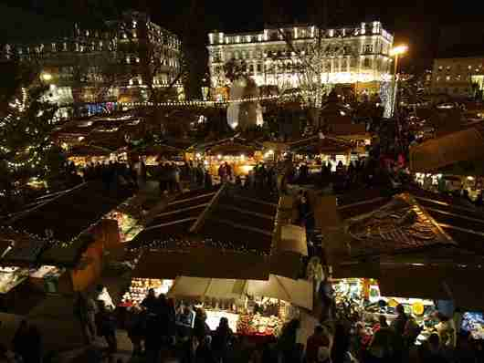 Budapest Christmas Fair (photo courtesy of BFTK Budapest Festival and Tourism Centre)