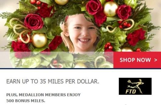 Earn Delta SkyMiles at FTD.com