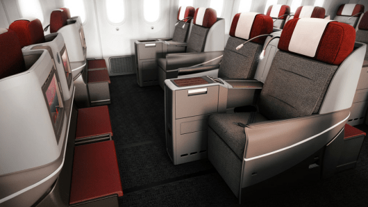 LAN's new business class, which you will be able to experience aboard its new 787-9 service from JFK-SCL.