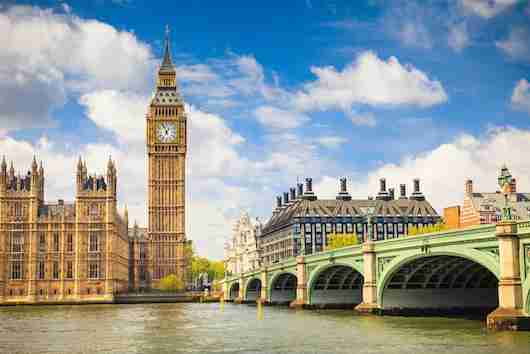 The iconic Big Ben in London. Photo courtesy of Shutterstock.