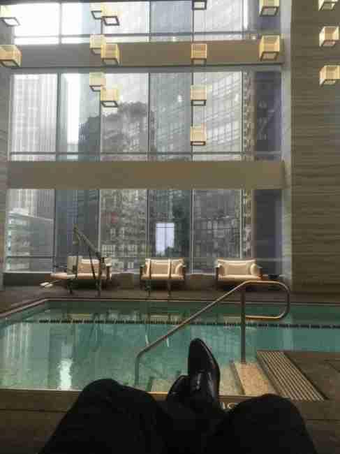 Park Hyatt New York Pool Lounge