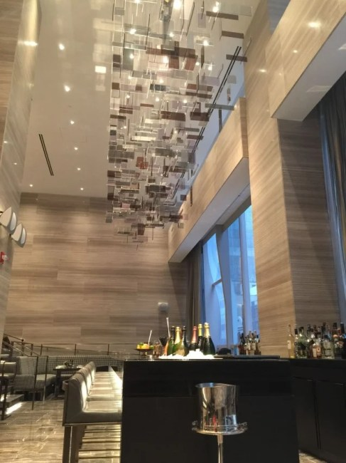 Park Hyatt New York lobby bar