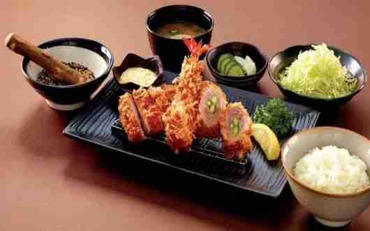 Saboten features traditional Japanese cuisine