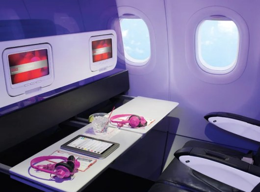 Some premium economy products offer more legroom while others get you free food and entertainment.