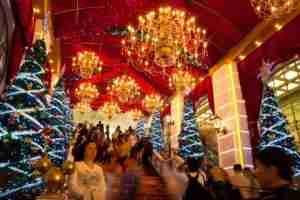 When it comes to Christmas, Hong Kong isn