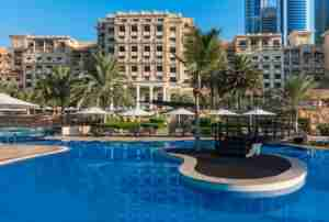 Westin Dubai Mina Seyahi Beach Resort and Marina.