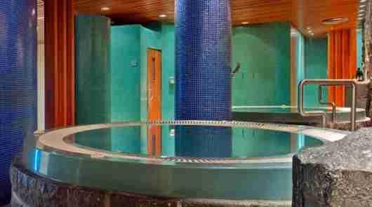 Hot tub and sauna action at the Hilton Reykjavik Nordica