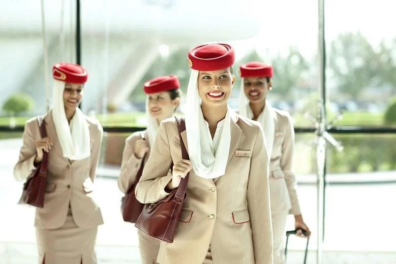 Emirates cabin crew fucking with pilot