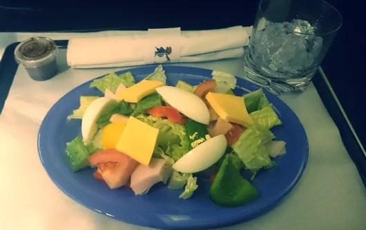 My turkey salad was just fine