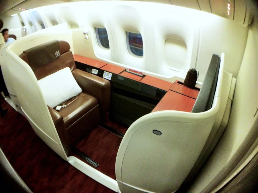 Japan Airlines 777 First Class Review: SFO-Tokyo Haneda