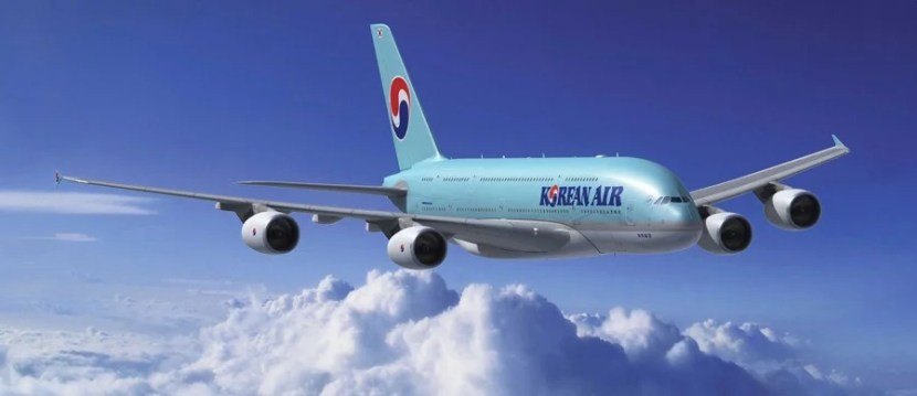 Korean Air offers flights to several US airports and connections from Seoul to Tokyo.