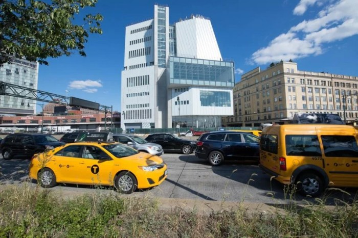 New York's iconic Whitney Museum is moving to a new Renzo Piano building in the Meatpacking District. Photo by Timothy Schenck.