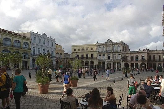 This plaza could be in Spain, New Orleans, Puerto Rico, but here I am in Cuba!