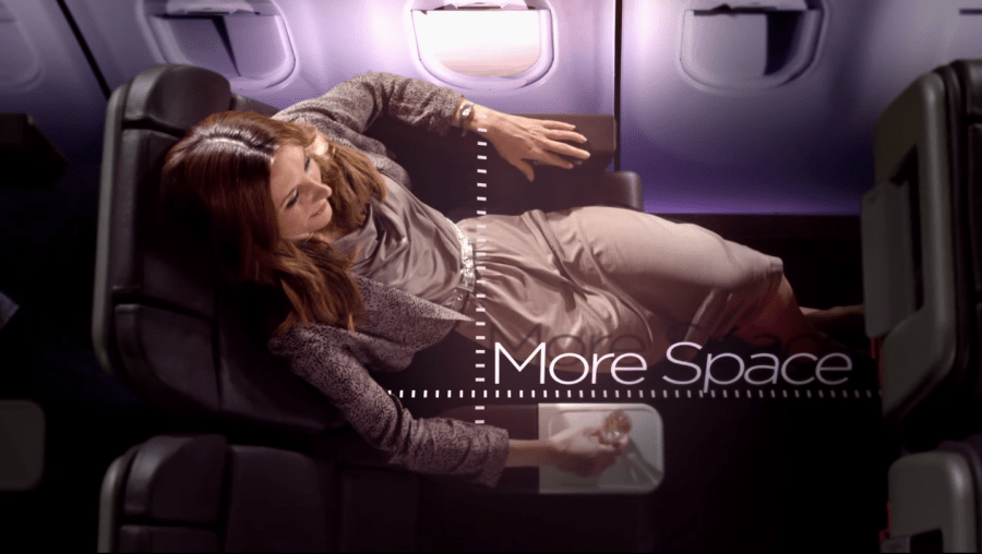 Premium economy on Virgin Atlantic is found on their entire long-haul fleet.
