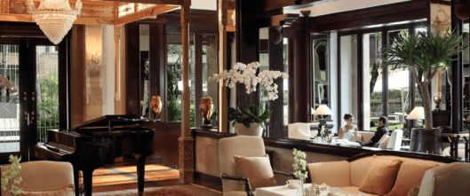 "The gorgeously furnished club lounge at the InterContinental Bali is just part of the ""resort within a resort"""