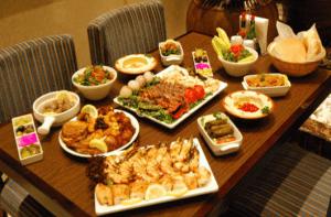 A Lebanese feast at Dubai