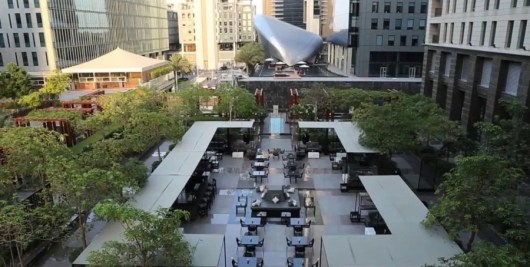 The No. 5 Lounge and Bar Terrace at The Ritz-Carlton DIFC