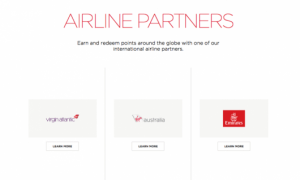 Transfer your points to Virgin America for partner redemptions on these airlines.