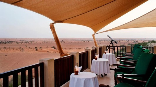 Starwood's Al Maha is set within the Dubai Desert Conservation Reserve.