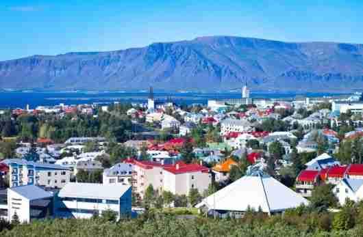 Beautiful downtown Reykjavik, Iceland. Photo courtesy of Shutterstock.