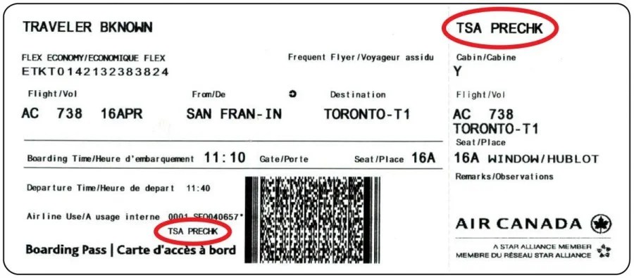 Known Traveler Number Icelandair