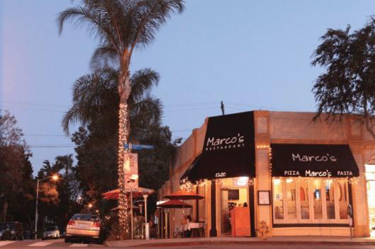 Marco's convenient West Hollywood location makes the quadruple dip even easier.