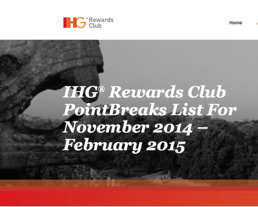 IHG Rewards PointsBreaks can be a great value.