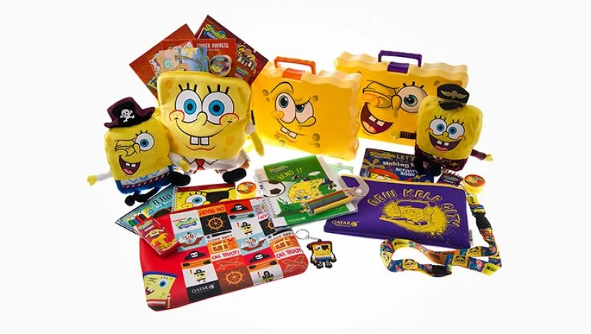 First Class Amenity Kit for Kids - Courtesy of Qatar Airways