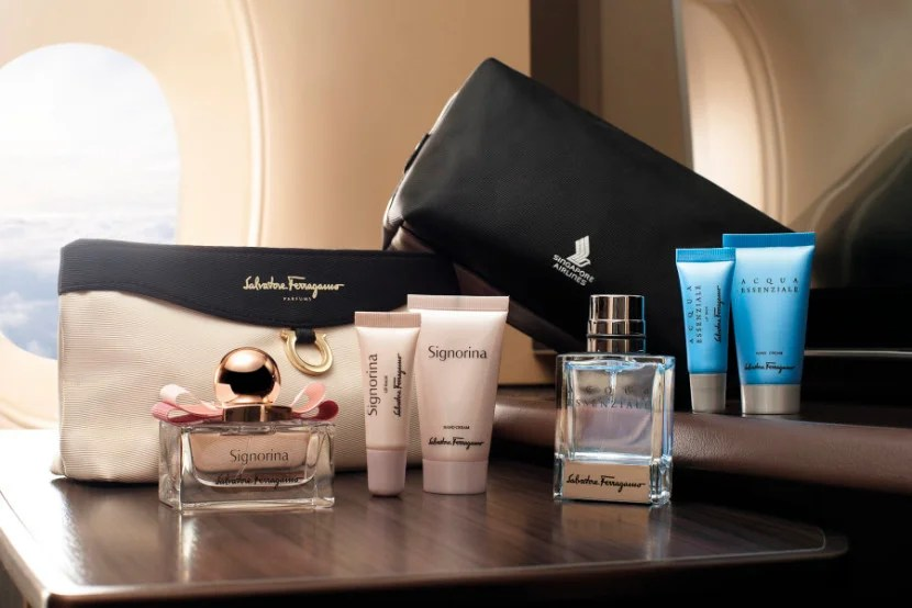 Best First Class Amenity Kits in the Skies
