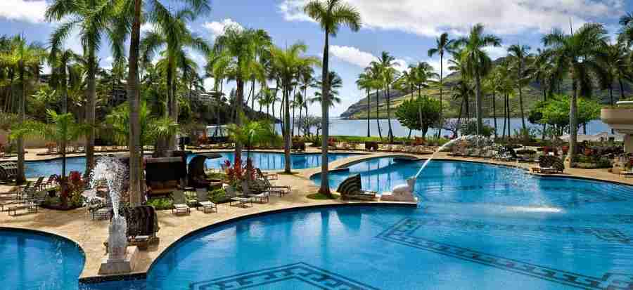 The sign-up bonus is enough for two nights at the Kauai Marriott Resort.