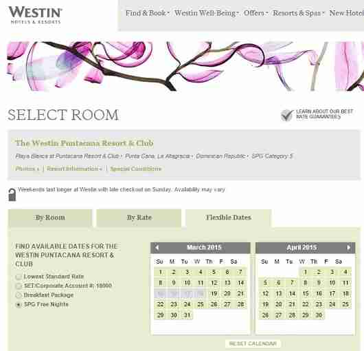 The Westin Punta Cana is the only hotel available for award stays, but you can still secure a room for only 12,000 Starwood points per night.