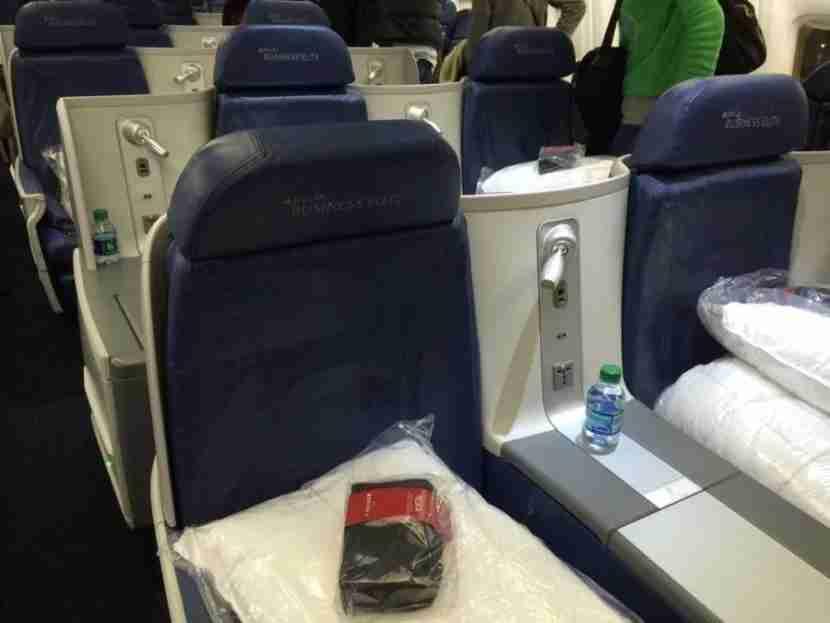 Delta flies 767