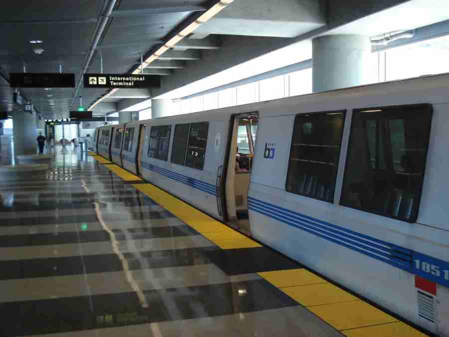 SFO BART station (Photo courtesy of Ian Fuller on Flickr)
