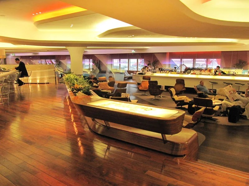 London's Heathrow airport is home to Virgin Atlantic's amazing first class Clubhouse.