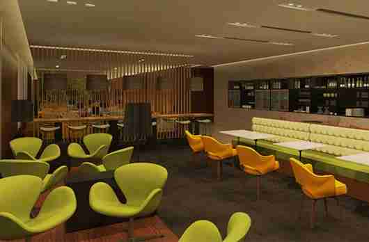 The Centurion Lounge in Buenos Aires is the nicest of the international locations, though (unfortunately) it doesn