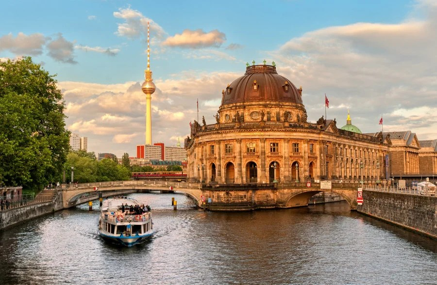 Beautiful Berlin (photo courtesy of Boris Stroujko via Shutterstock)