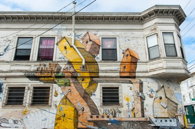 Colorful murals in the Mission (Photo courtesy of Julien Hautcoeur / Shutterstock)