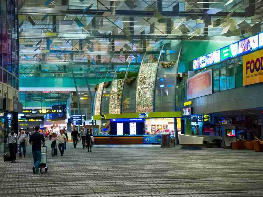Singapore takes the cake yet again for best airport. Photo courtesy of Shutterstock.
