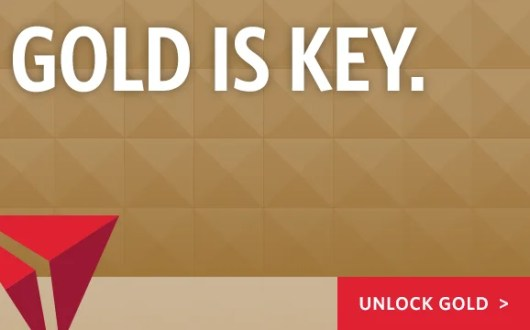 Delta is sending out targeted offers for Delta Gold status.