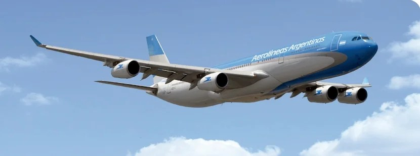 Aerolineas Argentinas is part of SkyTeam.